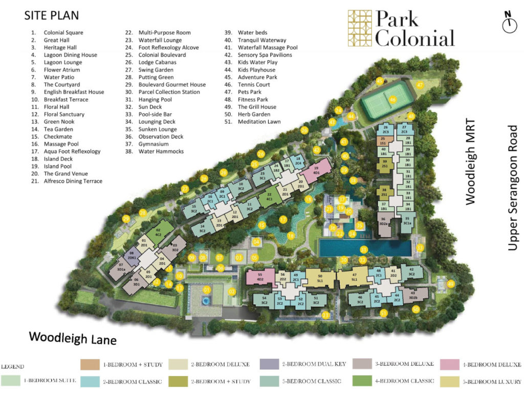 Park Colonial - 2018 New Condo @ Woodleigh MRT Station